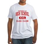 Property of High School Glee Club Fitted T-Shirt