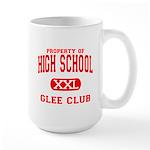 Property of High School Glee Club Large Mug