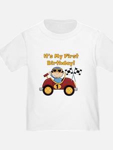 Race Car 1st Birthday T