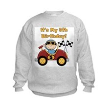 Race Car 5th Birthday Sweatshirt