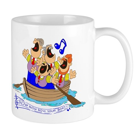 Row row row your boat. Mug