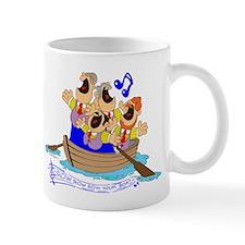 Row row row your boat. Mug