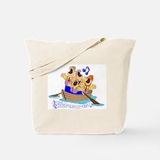 Row row row your boat. Tote Bag