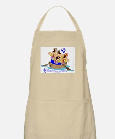 Row row row your boat. BBQ Apron