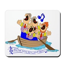 Row row row your boat. Mousepad
