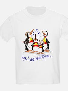 Penguin quartet. T-Shirt