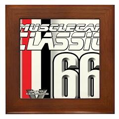 Musclecars 1966 Framed Tile