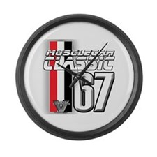 Musclecars 1967 Large Wall Clock