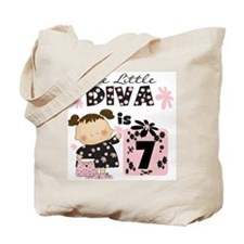 Diva 7th Birthday Tote Bag
