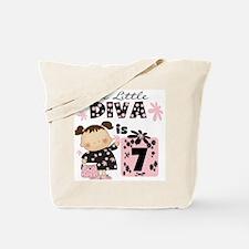 Diva 7th Birthday Tote Bag