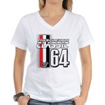 Musclecars 1964 Women's V-Neck T-Shirt