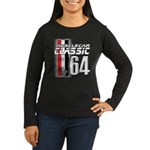 Musclecars 1964 Women's Long Sleeve Dark T-Shirt