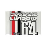Musclecars 1964 Rectangle Magnet (10 pack)