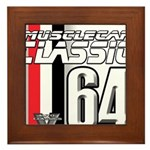 Musclecars 1964 Framed Tile
