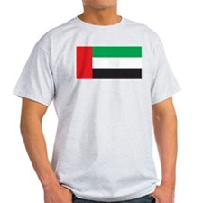 United Arab Emirates Flag Ash Grey T-Shirt