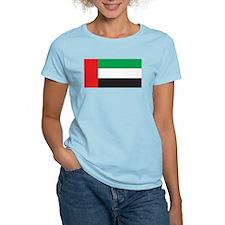 United Arab Emirates Flag Women's Pink T-Shirt