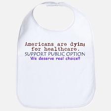 Public Option: REAL Choice! Bib