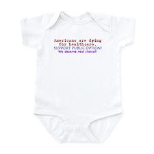 Public Option: REAL Choice! Infant Bodysuit