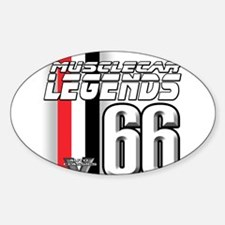 Legends 66 Oval Decal