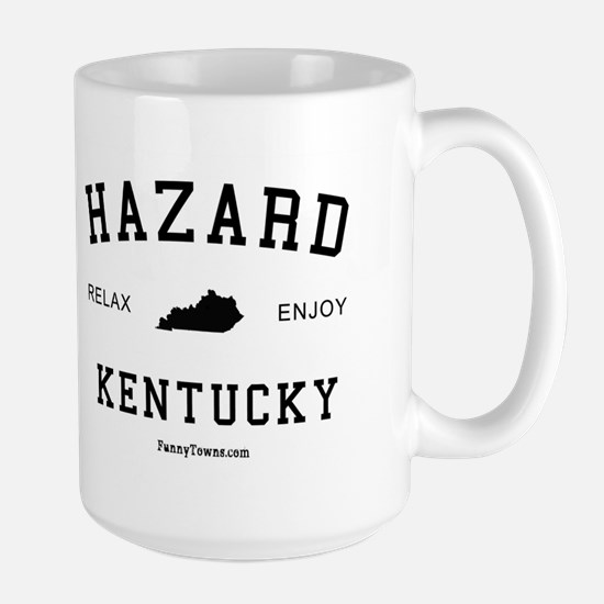 Hazard, Kentucky (KY) Large Mug