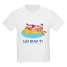 Go Raft Kids T-Shirt