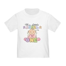 Girl Angel 1st Birthday T