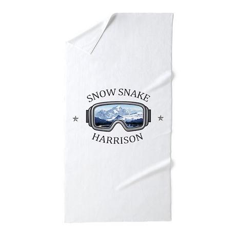 Snow Snake Ski & Golf - Harrison - M Beach Towel