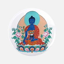 """Medicine Buddha 3.5"""" Button"""