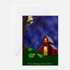Chia Pet Greeting Card