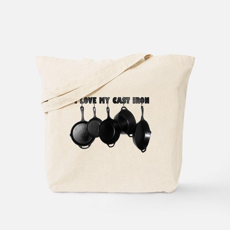 I love Cast Iron Tote Bag