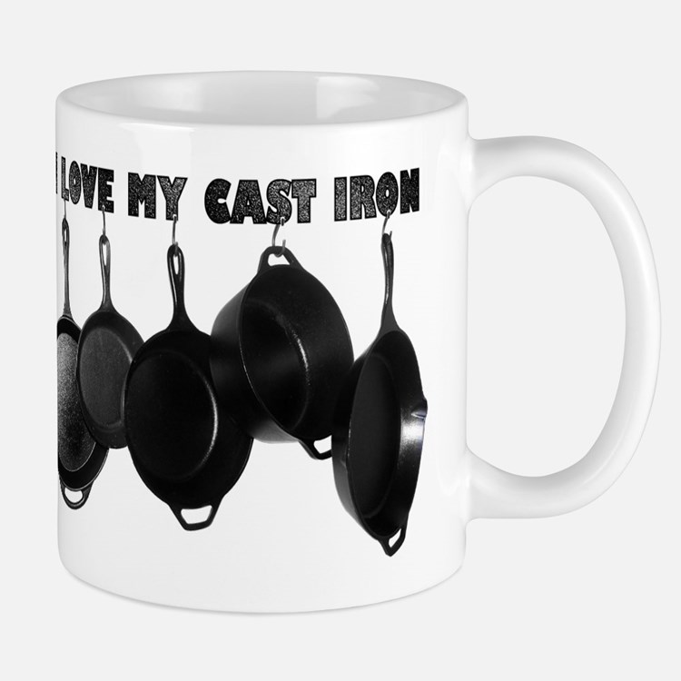 I love Cast Iron Mug