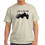 I love Cast Iron Light T-Shirt