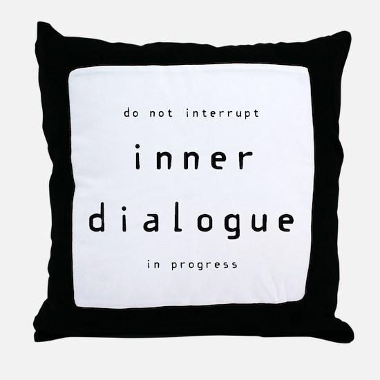 Unique Intellectual Throw Pillow