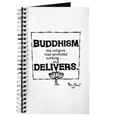 Buddhism Delivers (small) Journal