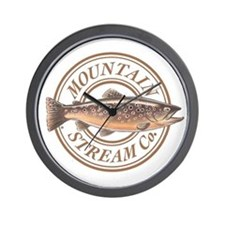 The Mountain Stream Co Wall Clock