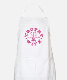 Trophy Wife since 08 Pink BBQ Apron