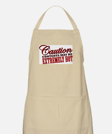 Caution: Contents Extremely Hot Apron