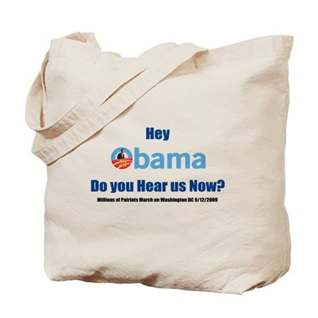 Hear us now? Tote Bag