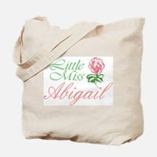 Little Miss Abigail Tote Bag
