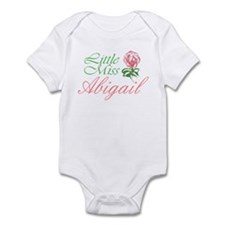 Little Miss Abigail Infant Bodysuit