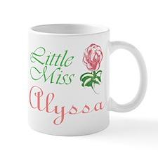 Little Miss Alyssa Mug