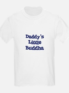 Daddy's Little Buddha Kids T-Shirt