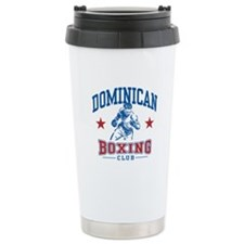 Dominican Boxing Travel Mug