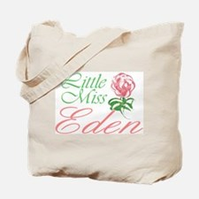 Little Miss Eden Tote Bag