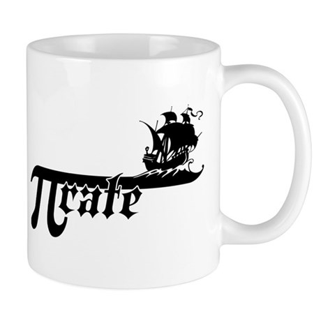 Pi rate Ship Mug