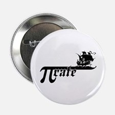 "Pi rate Ship 2.25"" Button"