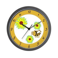 Cute as can Bee Wall Clock