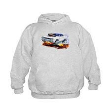 Roadrunner White Car Hoodie