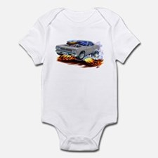 Roadrunner Silver/Grey Car Infant Bodysuit