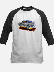 Roadrunner Silver/Grey Car Kids Baseball Jersey